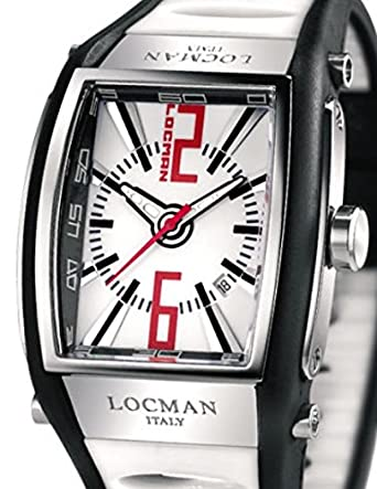 Locman 026100 whnrd5bkw _ WT Unisex Armbanduhr