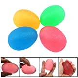2017 Charberry Soft Egg Hand Finger Exercise Train Therapy Stress Mood Squeeze Vent Relief Ball (multicolor)