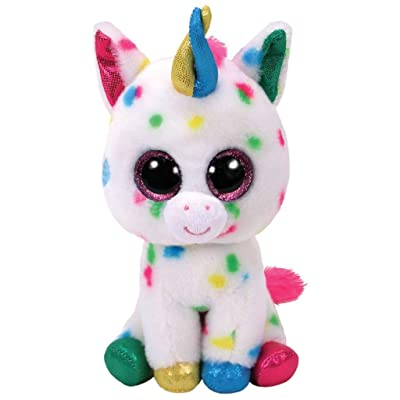 Ty Beanie Boos TY37266 Harmonie The Unicorn Buddy 24cm: Toys & Games
