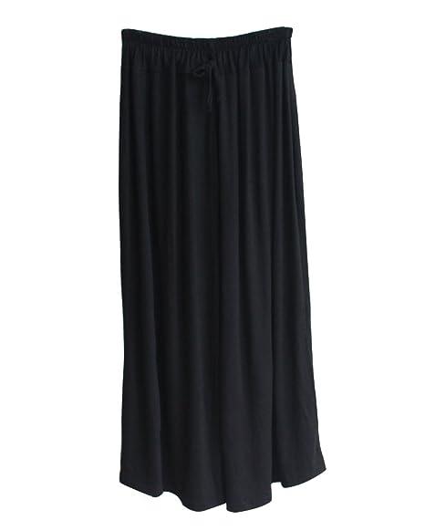 Mujer Cintura Alta Elasticos Palazzo Fluidos Pantalones De ...