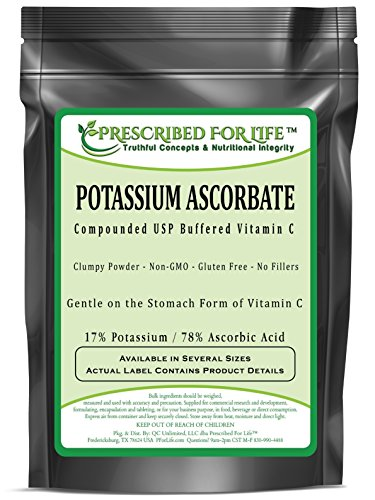 Potassium Ascorbate - Compounded USP Buffered Vitamin C Powder - 17% K / 78% Ascorbic Acid, 12 oz by Prescribed For Life (Image #2)
