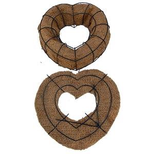 """16"""" Living Wreath Heart Form - Original Design! 2"""