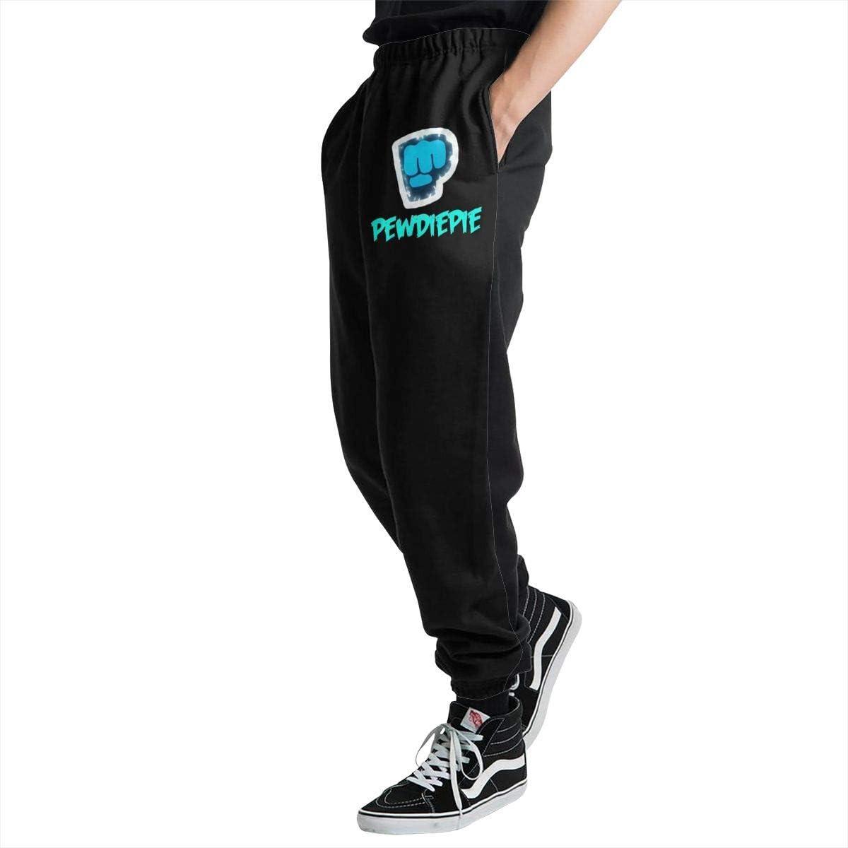 Darkfacai Man Sweatpants Pewdiepie Comfortable Training Pants Long Jogger Pant