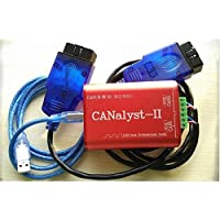 CAN alyst-II USB to CAN Analyzer CAN-BUS Converter Adapter Dual Channels &2OBD Linux System Support/ZGL
