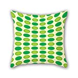 PILLO geometry pillowcase 16 x 16 inches / 40 by 40 cm gift or decor for dining room,monther,drawing room,christmas,kids - twin sides