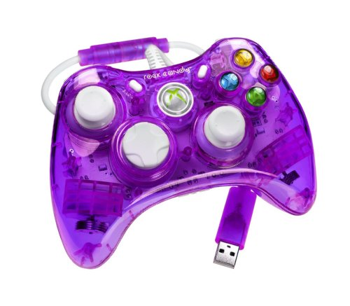 Rock Candy Xbox 360 Controller - Purple