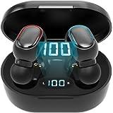Bluetooth Earbuds Wireless Headphones 24H Playtime IPX5 Waterproof in-Ear Earphones Built-in Mic Earphones Headsets with Char