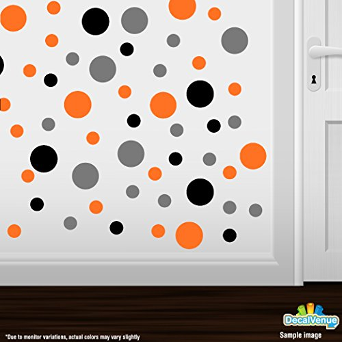 Set-of-60-Circles-Polka-Dots-Vinyl-Wall-Graphic-Decals-Stickers