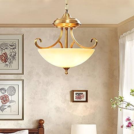 Omped retrò lampadario di rame vento industriale semplice stile ...