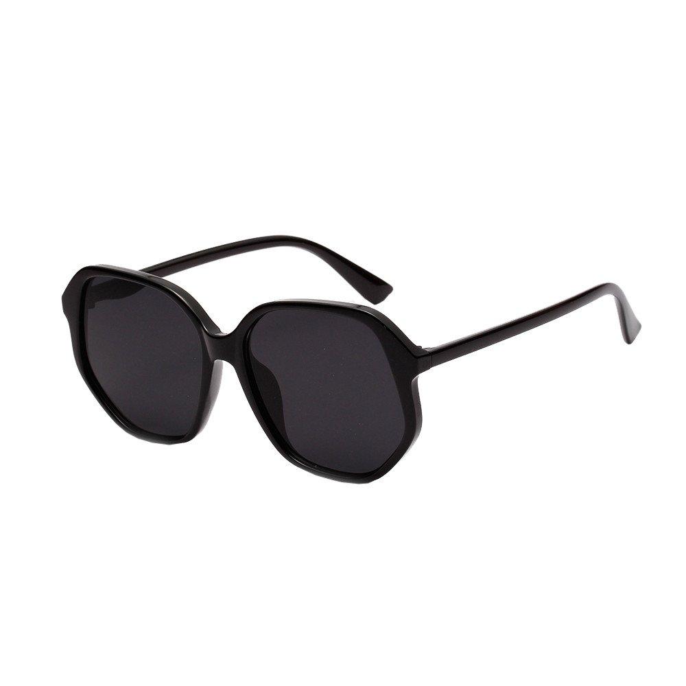 REYO Square Frame Shades Sunglasses Integrated UV Glasses For Men//Women Vintage Polarized Sunglasses