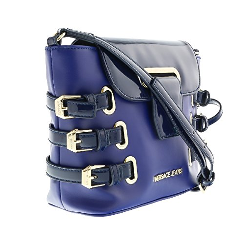 Versace-EE1VOBBE1-E240-BlueGold-CrossbodyShoulder-Bag