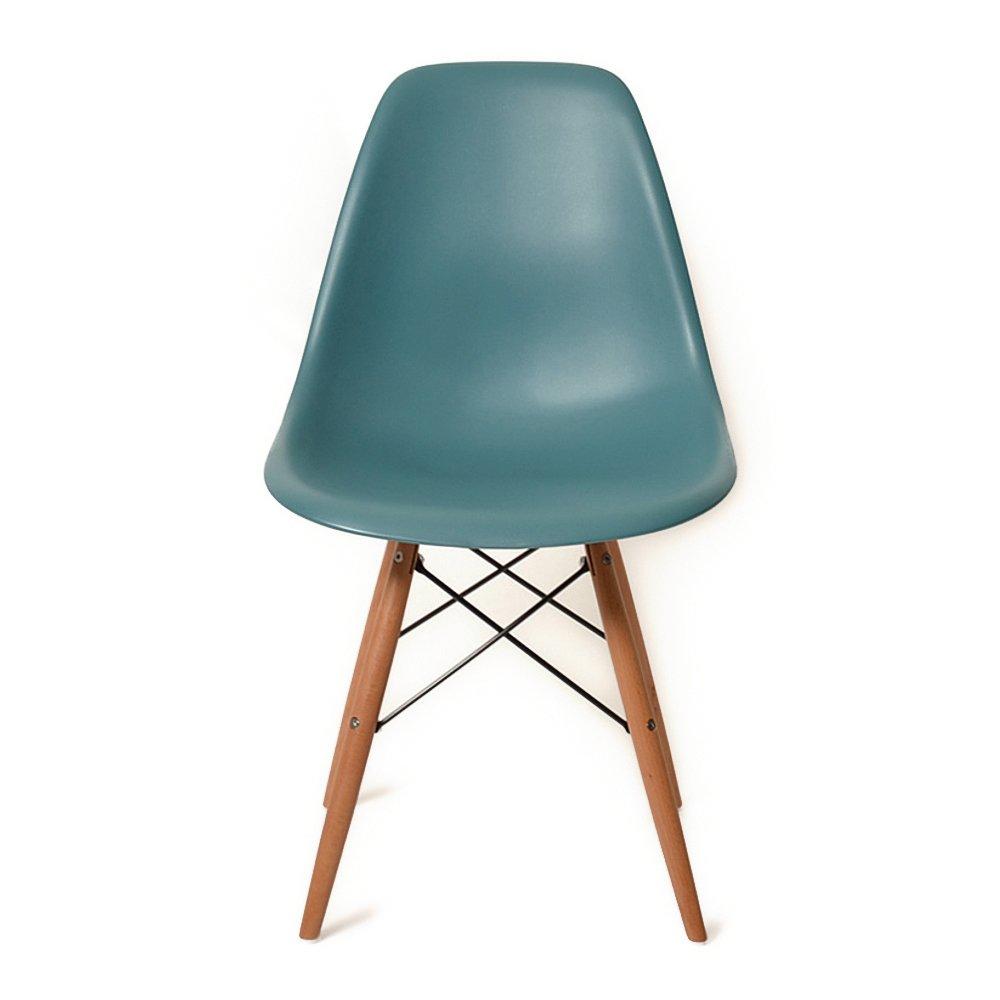 DSW ネイビーブルー サイドシェルチェア/Shell Side Chair イームズ PP(強化ポリプロピレン) B00HLTBBEW