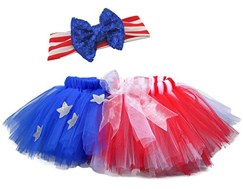 Tutu Dreams Red White Royal Costume for Girls (8 for 7-8Y, (Tap Dance Costume Halloween)