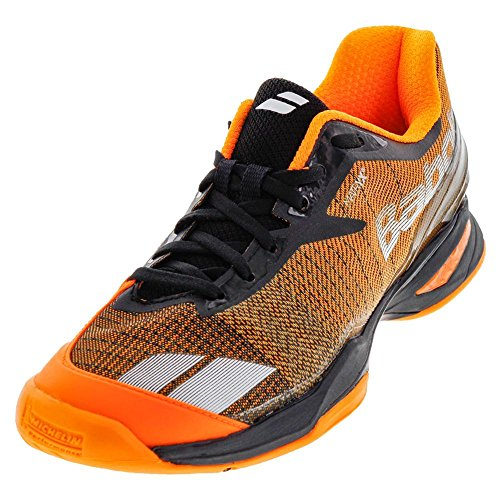Babolat Herren Jet All Court Tennisschuh, Orange Grau schwarz