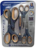 Westcott Titanium Bonded Scissors, 5 Pack