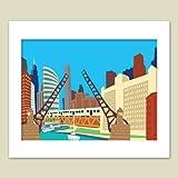 Bridges Matted Print, 16 x 20