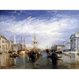 Posters: Joseph William Turner Poster Art Print - Grand Canal, Venice, 1835 (32 x 24 inches)