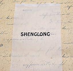 Shenglong New 50 Pcs Waterproof Type Clear Plastic Horizontal Name Tag Badge Id Card and 50 Pcs Red Lanyard