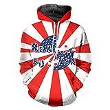 reagan bush 84 sweater - Skull Chef Reagan Bush 84 American Flag Pullover Hooded Men 3D Plus Size Sweatshirt Hoodie