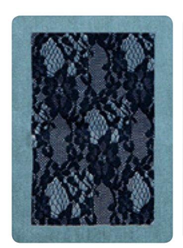 Marbet Saldastrappi Jeans 496 jeans chiaro+bianco Pizzo CM15x20 Art.120-P