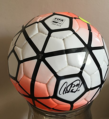 AUTOGRAPHED ABBY WAMBACH SIGNED WITH INSCRIPTION 20 - NIKE FIFA SOCCER BALL PSA/DNA CERTIFIED SIZE FIVE