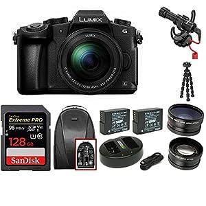 Panasonic LUMIX DMC-G85MK 4K Mirrorless Lens Camera Kit Bundles