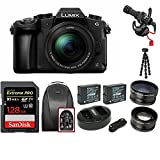 Panasonic LUMIX G85MK 4K Mirrorless Interchangeable Lens Camera Kit, 12-60mm Lens w/ Rode Video Micro + 128GB