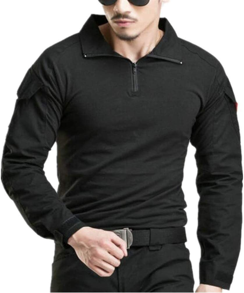 TALLA DE XS (Brustumfang: 81-86cm). BLF Ejército Hombres Táctico Militar Manga Camiseta Camo Camisetas