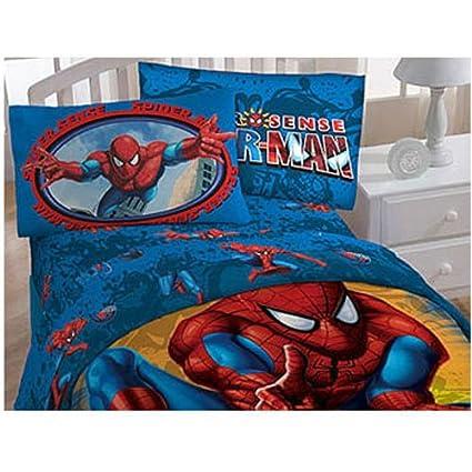 Spider Sense Spiderman Full Sheets Set