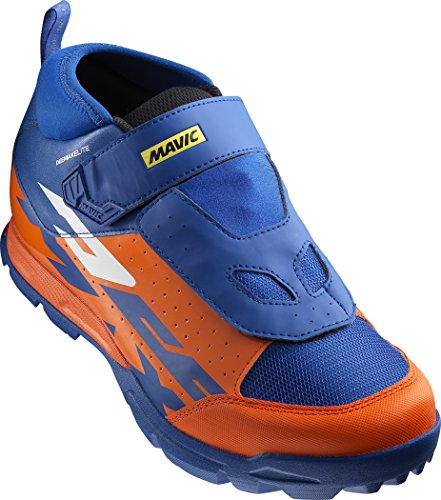 Mavic deemax Elite MTB bici scarpe arancione/blu 2017, 44