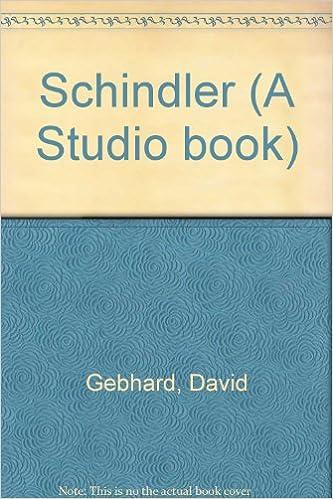 Schindler (A Studio book)