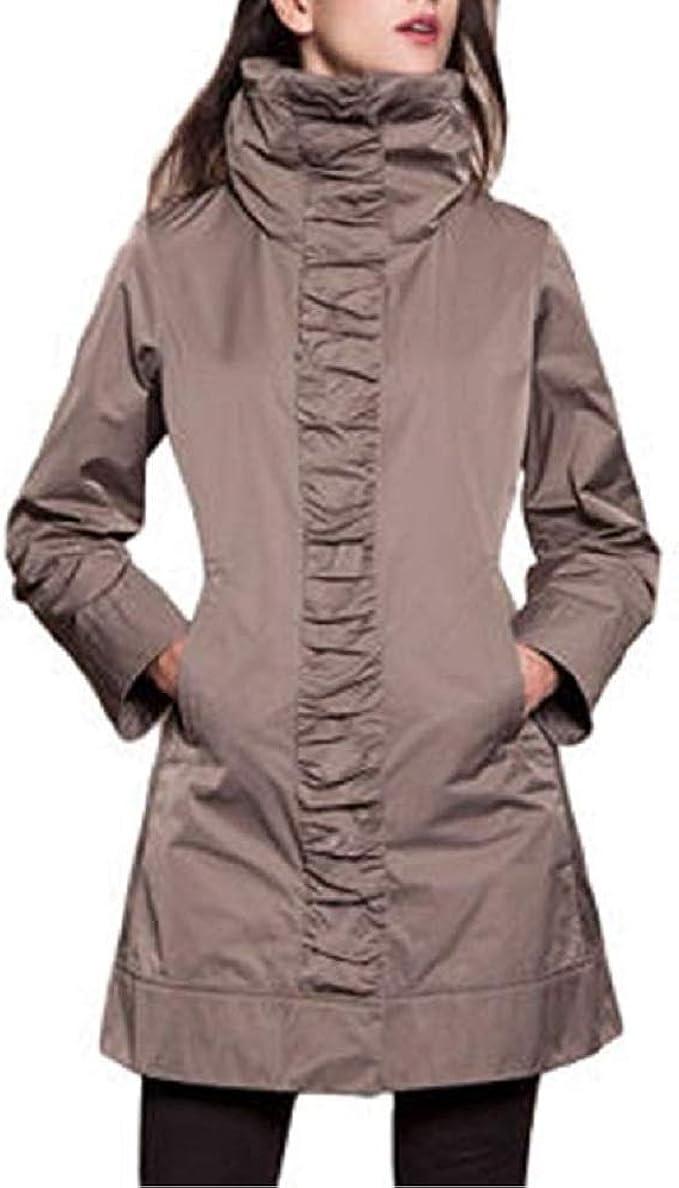 Rainforest Ladies Hooded Rain Jacket Small, Mushroom
