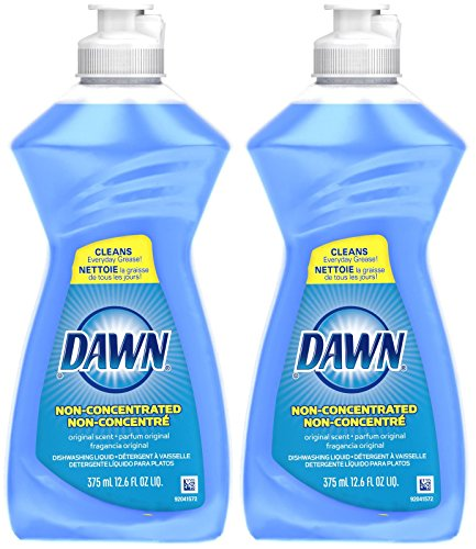 Dawn Non Concentrated Dishwashing Liquid - 12.6 oz - Original - 2 (Concentrated Dishwashing)