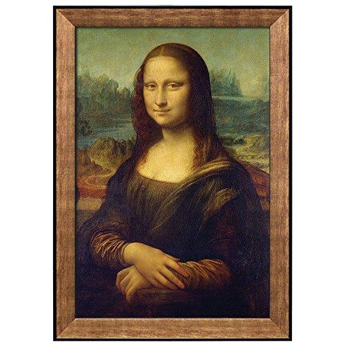 Mona Lisa by Leonardo Da Vinci Framed Art