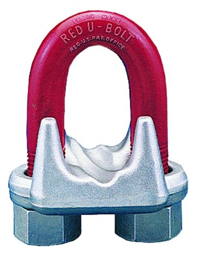 Crosby 1010257 1-1/8 (28-30MM) forged wire rope clip galvanized - Crosby Clip
