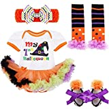 YiZYiF Baby Infant Girls Christmas Romper Tutu Set 1st Halloween Clothing Set