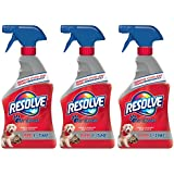 Resolve Pet Expert Carpet & Upholstery Stain Remover Spray, 16 Ounce, (Pack of 3)
