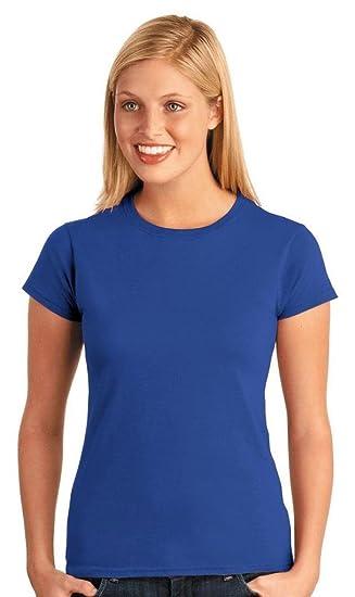 e1eab04e2c0c22 Gildan Damen Kurzarm T-Shirt  Amazon.de  Bekleidung