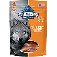 Blue Buffalo Wilderness Grain-Free Turkey Dog Jerky Treats, 3.25 oz
