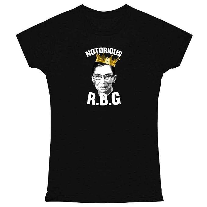 444c52576606 Notorious R.B.G. RBG Supreme Court Political Womens Tee Shirt ...