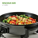 Ovente Electric Skillet 12 Inch with Nonstick