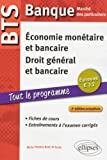 BTS Banque Marché des Particuliers Tout le Programme. Épreuve E3.2 Économie Monétaire et Bancaire Droit Général et Bancaire