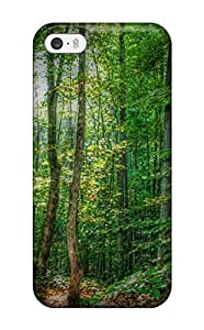 Tpu Shockproof/dirt-proof Forest Cover Case For Iphone(5/5s)