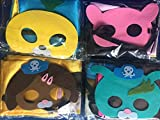 HeyFun 4 Sets Octonauts Costumes Capes & Masks