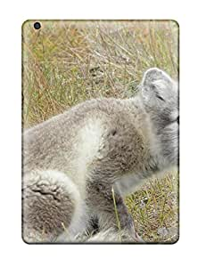 Leslie White LQBxVVO1184lEMWU Case For Ipad Air With Nice Arctic Foxes Appearance