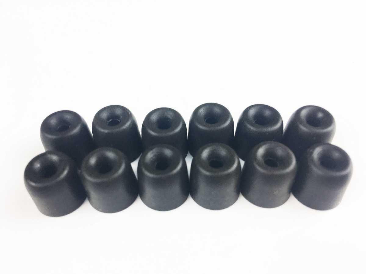 M Embouts D/écouteurs Embouts /Écouteurs Mousse /à M/émoire de Forme pour Shure SE215 SE110 SE115 SE530 SE535 LG Tone HBS-1000 Westone UM1 UM2 UM3 /Ø2,5mm 6 Paires Moyen
