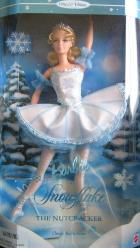 Barbie As Snowflake in The Nutcracker 12″ Collector Doll, Baby & Kids Zone