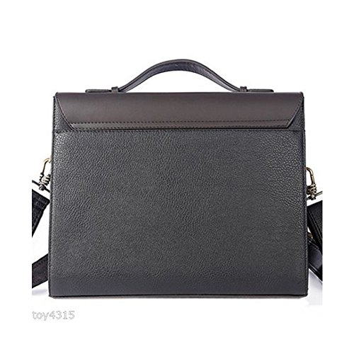 1c0af8ada0c7 MESIDA Polo Men s Genuine Leather Briefcase Business Laptop Bag ...