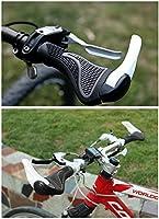 TRELC Puños de goma de diseño ergonómico para bicicleta de montaña ...
