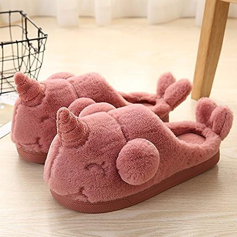 Cotone Caldo In Donne Inverno E Xinsu Paio Pantofole Uomini Home EF1qnY